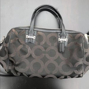 Coach Taylor Op Art Satchel